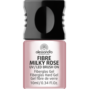Fibre UV/LED Brush-On Fiberglass Gel Milky Pink 10ml