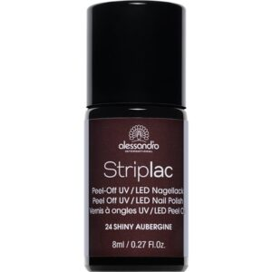 124 Striplac Shiny Aubergine (8ml)