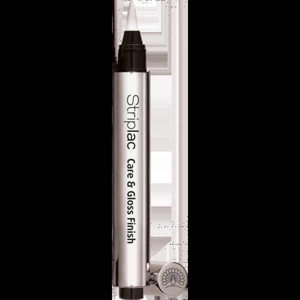 Striplac Care & Gloss Finish priemonė suteikianti blizgesio (15ml)