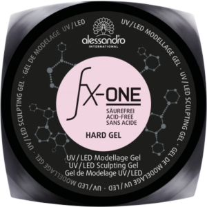 FX-One Hard Gel Clear Rose gelis (15g)